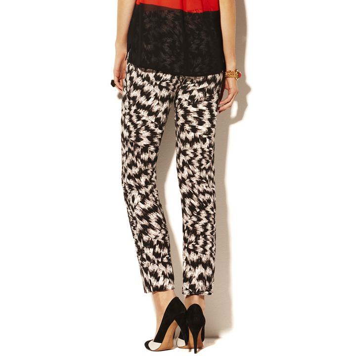 Vince Camuto Abstract Printed Pant
