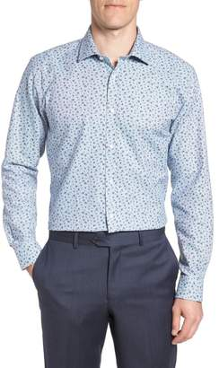 Ted Baker Chardo Trim Fit Floral Dress Shirt