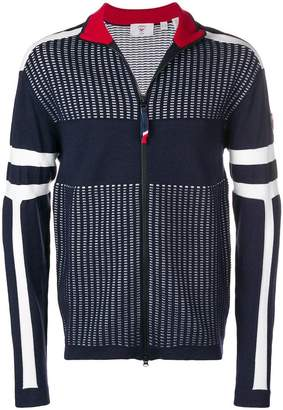 Rossignol contrast stripe sweater