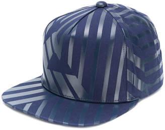Emporio Armani striped logo cap