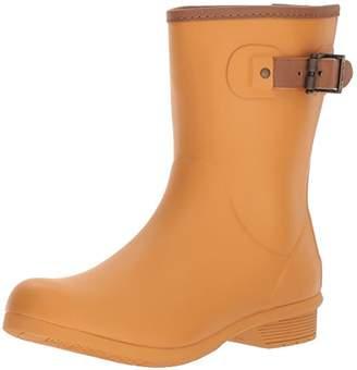 Chooka Women's Mid-Height Memory Foam Rain Boot