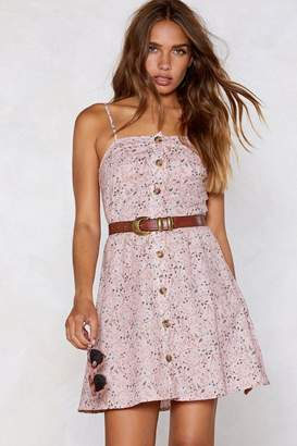 Nasty Gal Spring Fling Button Dress