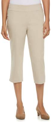 Dana Buchman Women's Midrise 21-in. Pull-On Capris