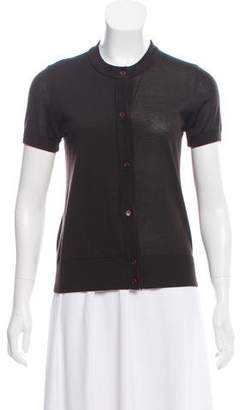Akris Punto Short Sleeve Knit Cardigan w/ Tags