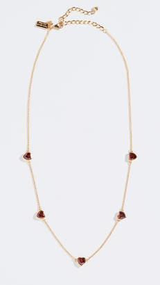 Kate Spade Romantic Rocks Short Scatter Necklace