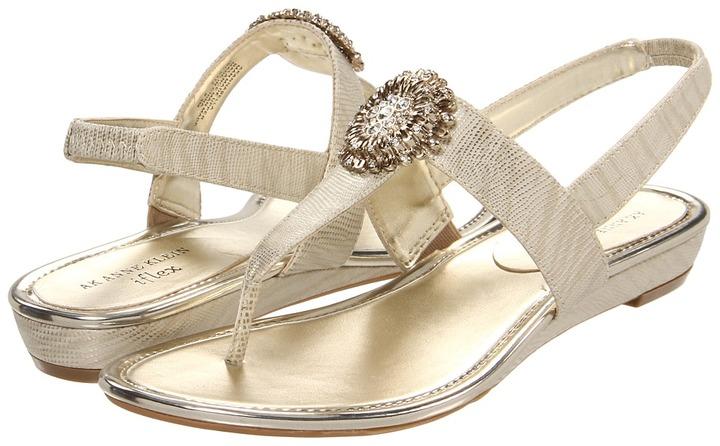 Anne Klein Annabella (Light Gold) - Footwear