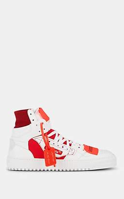 Off-White Off - White c/o Virgil Abloh Men's Off-Court Leather & Canvas Sneakers - White
