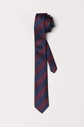 H&M Striped Tie - Blue