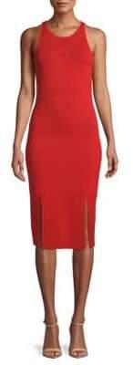 Jonathan Simkhai Micro Stripe Knit Bodycon Dress