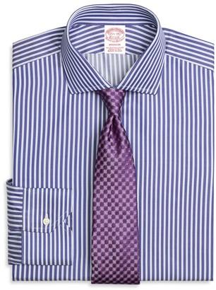 Brooks Brothers Madison Classic-Fit Dress Shirt, Split Stripe