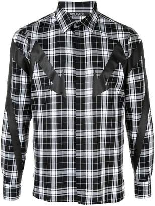 Neil Barrett Arrow print shirt