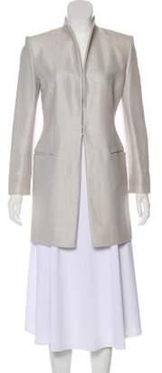 Celine Metallic Silk Jacket