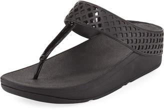 FitFlop Safi Leather Platform Sandal