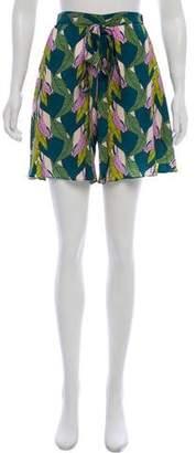 Jaline Oversize Silk Shorts w/ Tags