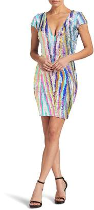 Dress the Population Zoe Sequin Body-Con Dress