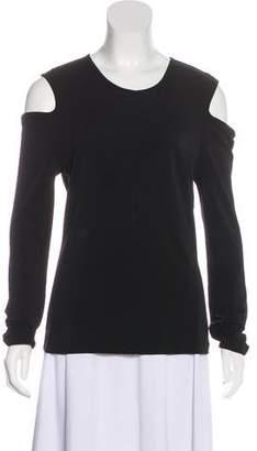 Rag & Bone Long Sleeve Cold-Shoulder Top