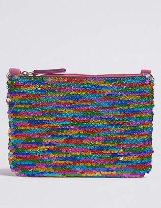 Marks and Spencer Kids' Multi Sequin Phone Bag