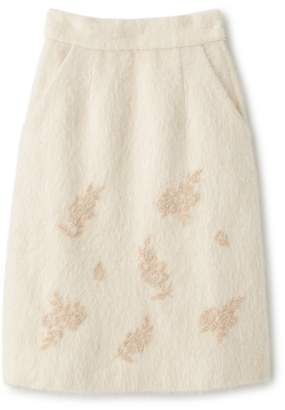Supreme.La.La (シュープリーム ララ) - シュープリーム ララ ビーズシシュウアンゴラコンスカート