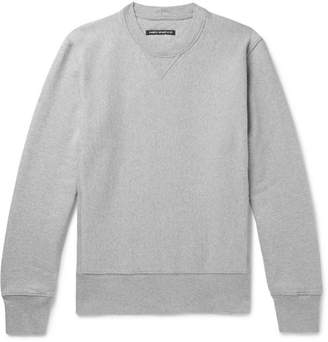 Co Fabric-Brand & Loopback Cotton And Linen-Blend Jersey Sweatshirt