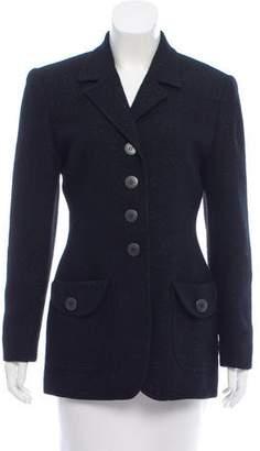 Christian Dior Lurex-Accented Wool Blazer