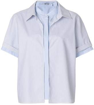 Alexander Wang multi stripe blouse
