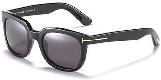 Tom Ford Campbell Square Sunglasses $380 thestylecure.com