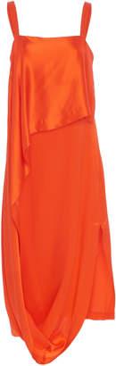 Temperley London Darling Draped Silk-Blend Dress