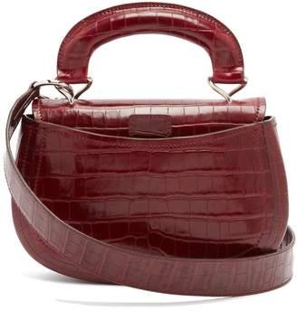 Lemaire Pumpkin crocodile-effect leather bag