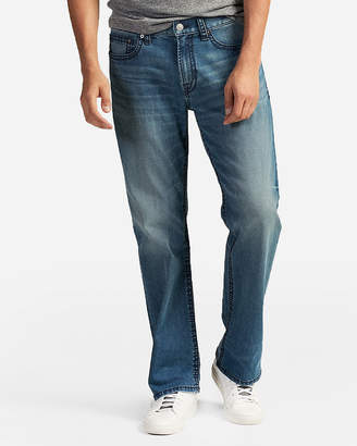 Express Loose Boot Thick Stitch Stretch+ Eco-Friendly Jeans