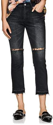 Sacai Women's Distressed Relaxed Jeans