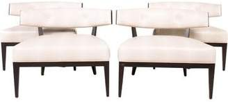 Bolier & Company Set of 4 Domicile Crescent Lounge Chairs