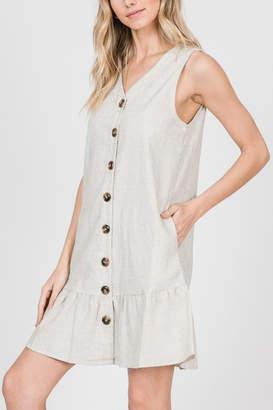 Lyn Maree's Button Down Linen Mini