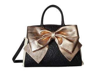 Betsey Johnson Big Bow Satchel Satchel Handbags