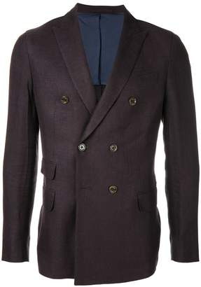 Eleventy double breasted blazer