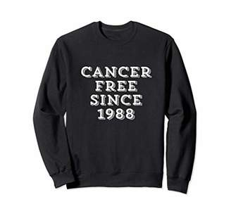 Cancer Free Since 1988