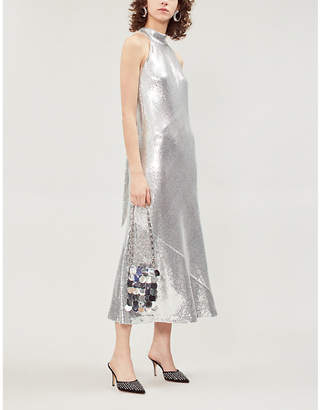 Galvan Daniela sequinned midi dress