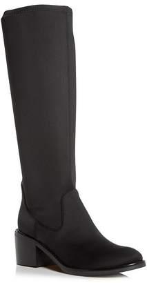 Donald J Pliner Women's Deno Crepe Elastic Block-Heel Boots