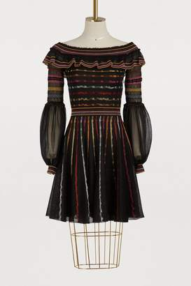 Alexander McQueen Off shoulder dress