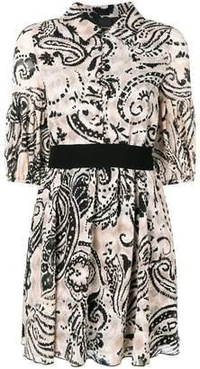 Pinko fitted shirt dress