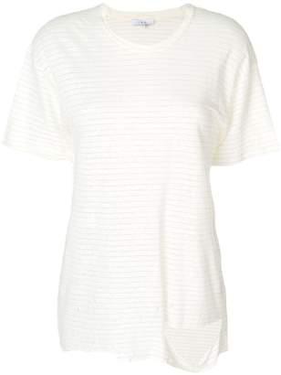 IRO distressed striped T-shirt