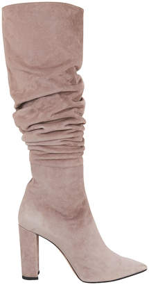 Jean-Michel Cazabat Jean Michel Cazabat Kendal Slouchy Grey Boots