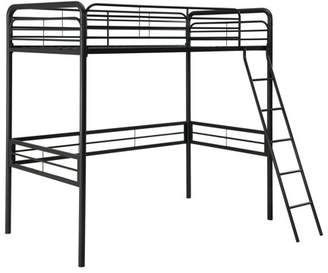 DHP Space Saving Metal Loft Bed, Multiple Sizes and Colors
