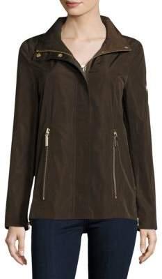 Dawn Levy Jackie Zip In Hood Rain Jacket