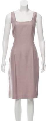 Michael Kors Silk Sleeveless Dress