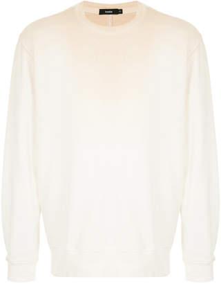 Bassike ombre long-sleeve sweatshirt