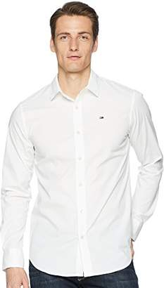 Tommy Hilfiger Tommy Jeans Men's Button Down Shirt Original Stretch