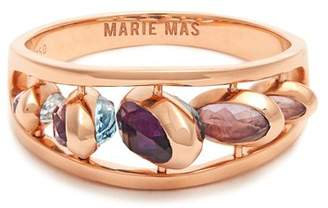 Marie Mas - Amethyst, Topaz & Pink Gold Ring - Womens - Pink