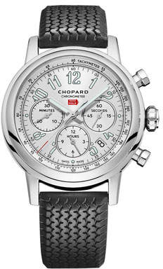 Chopard 42mm Racing Mille Miglia Classic Chronograph Watch with Tire Strap