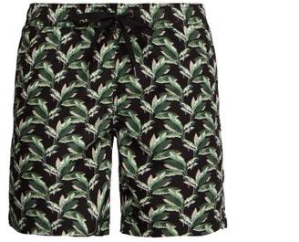 Onia Charles Liberty Print Swim Shorts - Mens - Black Multi