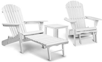 Adirondack Dwell Outdoor 2 Seater Hudson Chair & Table Set